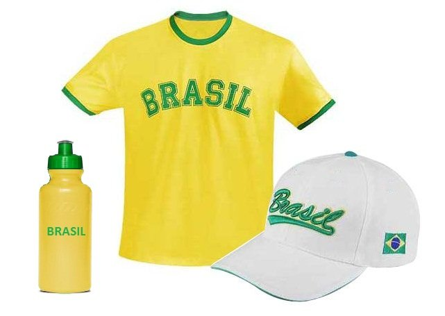 KIT CAMISETA, BONÉ E SQUEEZE 550 ML - INF CM1003