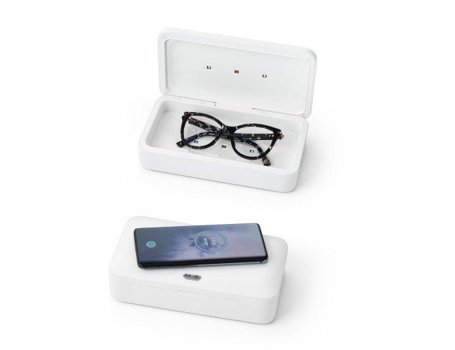 Caixa esterilizadora UV com carregador wireless Modelo INF 58519