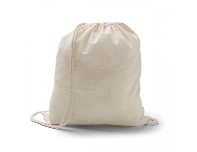 Sacola tipo mochila. 100% algodão - Modelo INF 92456