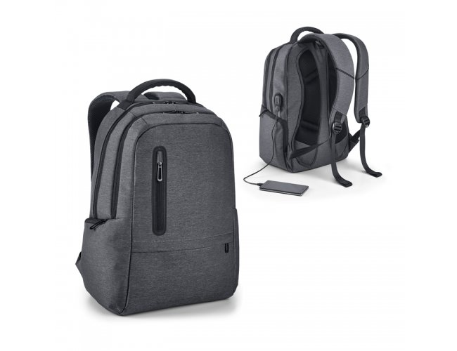 Mochila para notebook. Nylon 2Tone impermeável Modelo INF 92675