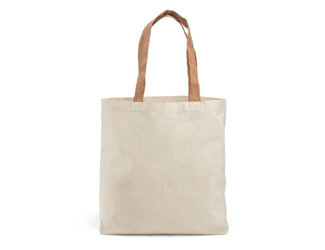 Sacola. 100% algodão: 180 g/m². Com bolso interior Modelo INF 92869 45 x 40