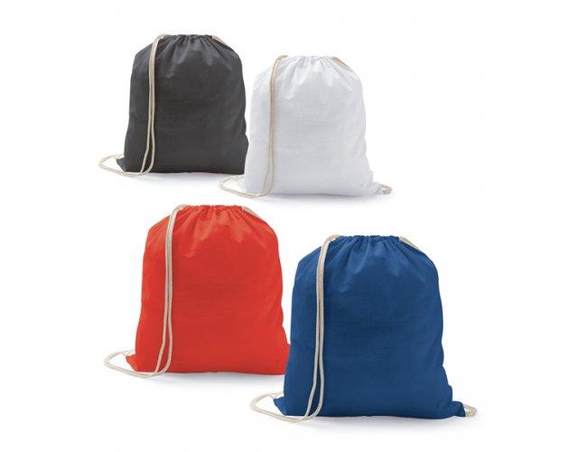 Sacola tipo mochila. 100% algodão: Modelo INF 92914