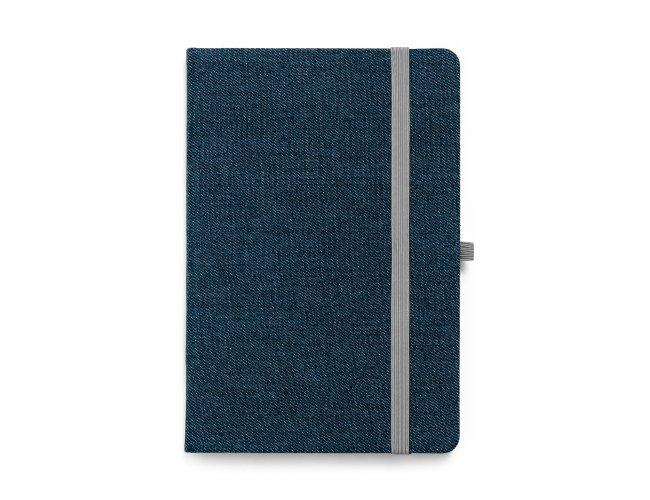 Caderno capa dura. Jeans Modelo INF 93594  21 x 14cm