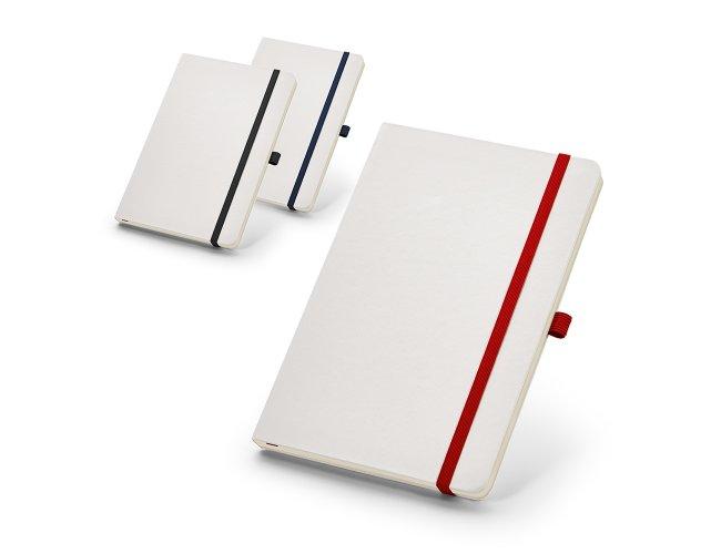 Caderno capa dura. Com porta esferográfica Modelo INF 93733