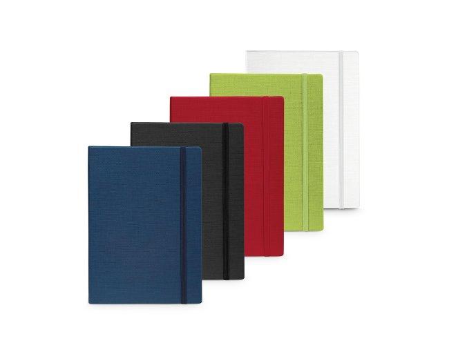 Caderno capa dura em cartão e em PU térmico Modelo INF 93736 14 x 9cm