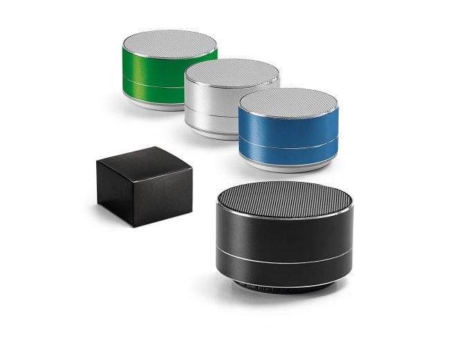 Caixa de som com microfone. Alumínio Modelo INF 97252