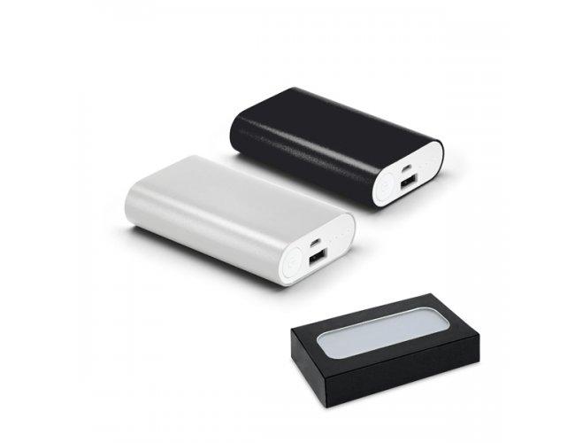 Bateria portátil. Alumínio. Bat. de lítio. Cap. 5.200 mAh Modelo INF 97383