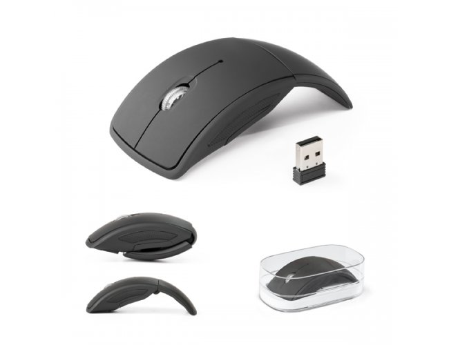 Mouse wireless dobrável 2.4G  Modelo INF 97399