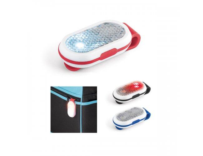 Refletivo. ABS. Com 2 LEDs, 2 modos de luz Modelo INF 98512