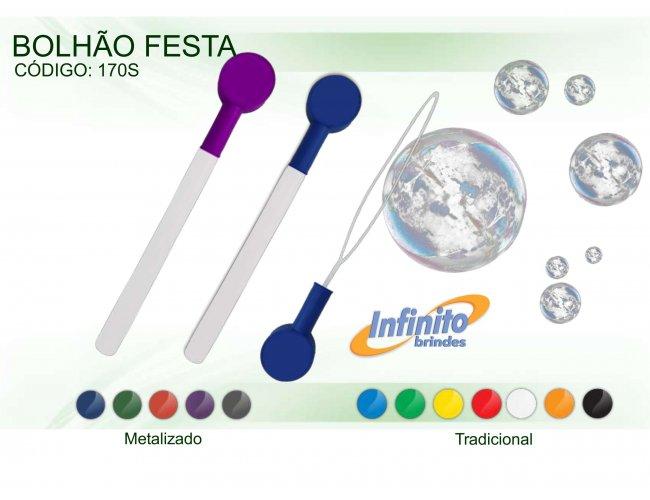 Bolhão Gigante Festa Metalizado -Modelo INF 170S