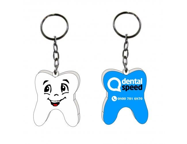 chaveiro em acrilico - Modelo INF CH04 dental