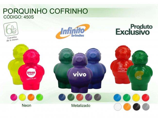COFRINHO PORQUINHO - INF 0450