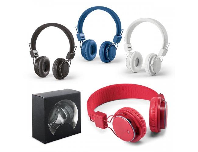Fone de ouvido dobrável. ABS. Ajustável - Modelo INF 97365
