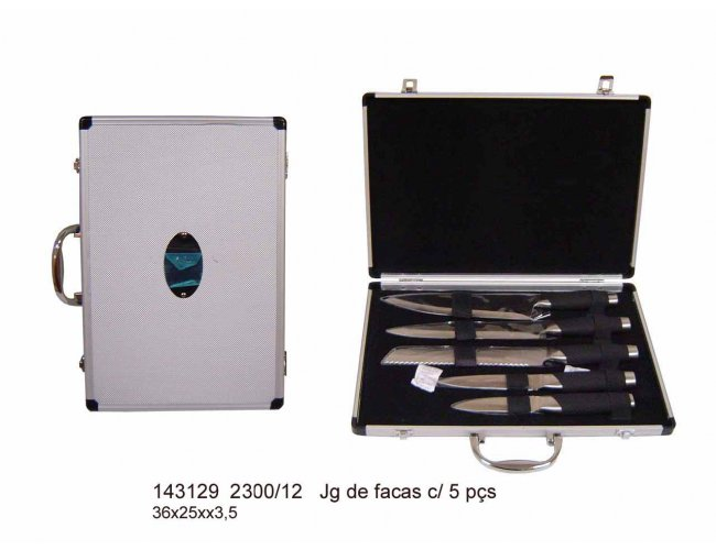 Jogo de facas 5 peças - Modelo INF 143129