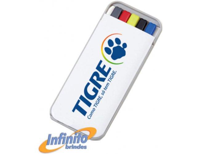 kit caneta, marca texto e lapiseira - Modelo INF 3001