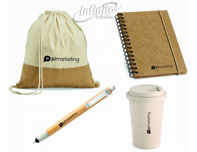 Kit Home Office ecológico - Modelo INF 18160
