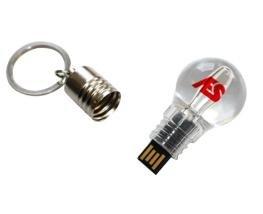PEN DRIVE LAMPADA - INF P124  capacidade de 4GB