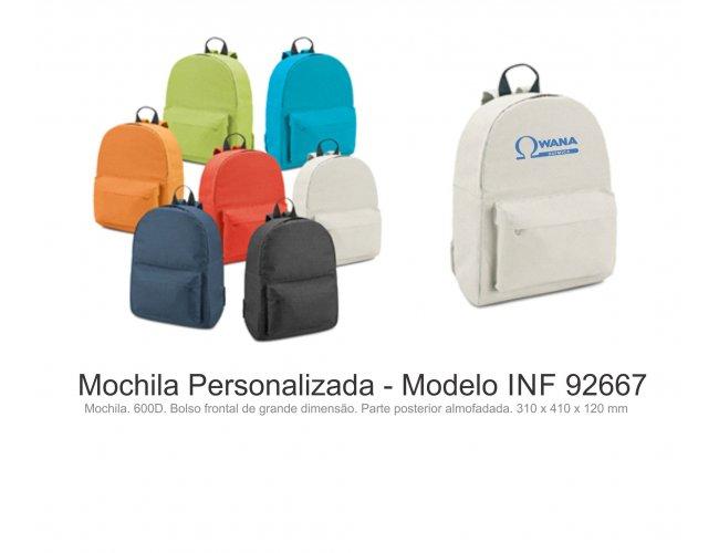 Mochila Personalizada - Modelo INF 92667
