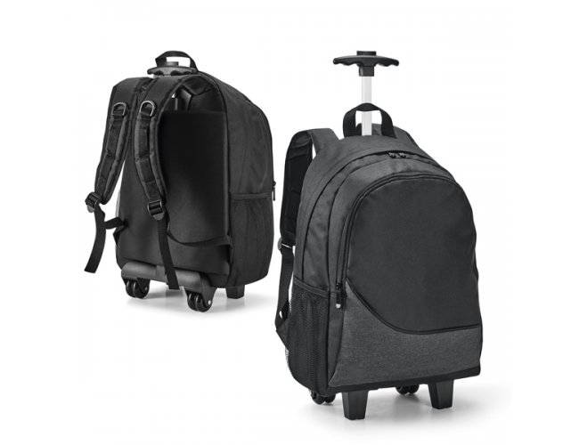 """Mochila trolley para notebook. 300D. Com 2 rodas duplas - Modelo INF 92183   15,6"""""""