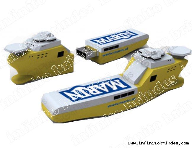 Pen drive Customizado - Formato Especial - Petroleiro - Modelo INF 10100