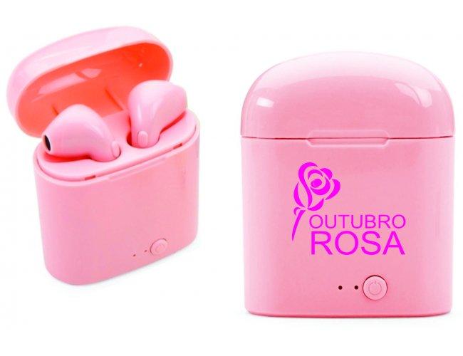 Fone de Ouvido Bluetooth com Case Carregador MOdelo INF 14199