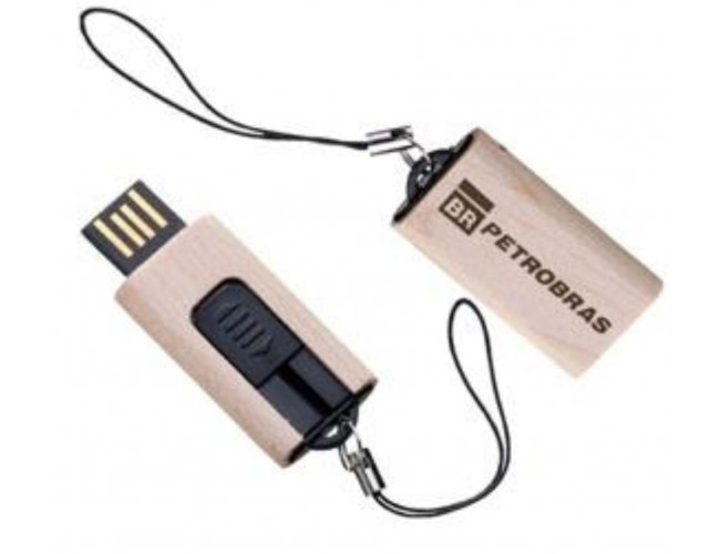 PEN DRIVE BAMBU - Modelo INF MM246   8GB