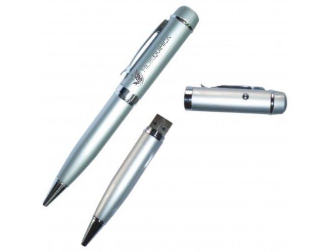 Caneta Pen Drive com laser Point - Modelo INF MF 262