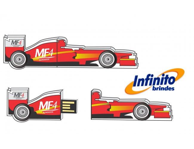 Pen drive estilizado - Modelo INF 10101 Formula 1