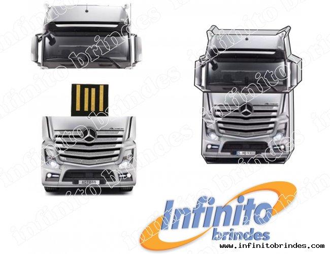 Pen Drive Estilizado - Modelo INF 10101 - Caminhão