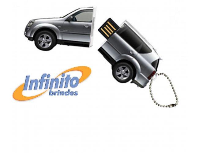 Pen Drive Estilizado - Modelo INF 10101 - Formato Carro