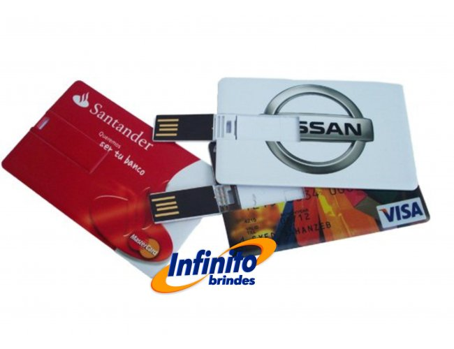 PEN DRIVE CARD - Modelo INF 10034   08GB