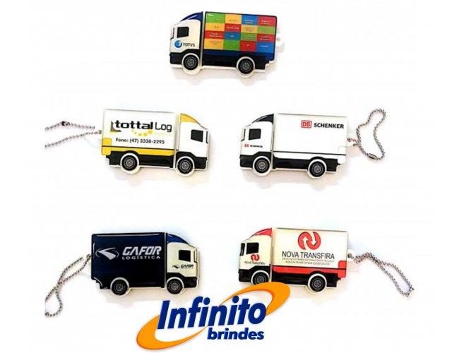 Pen drive Estilizado - Modelo INF 10101 Caminhão