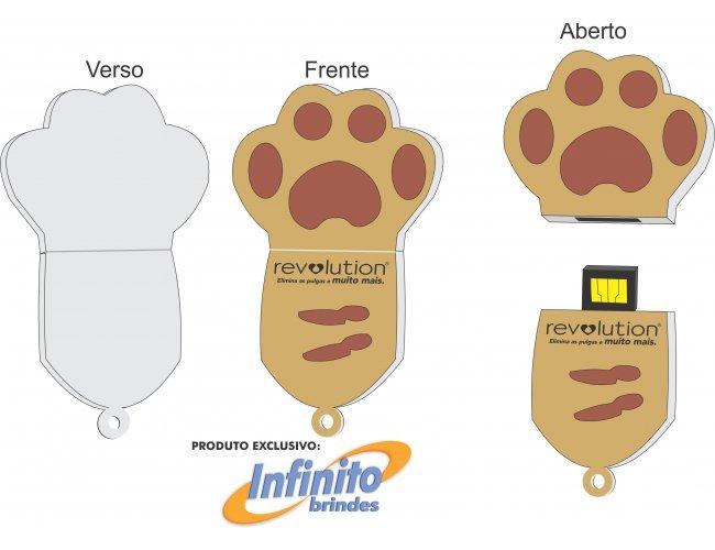Pen drive ESTILIZADO - Modelo INF 10101 Pet
