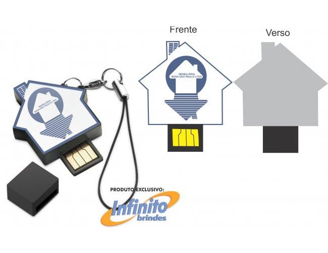 Pen drive ESTILIZADO - Modelo INF 10101 Construtoras