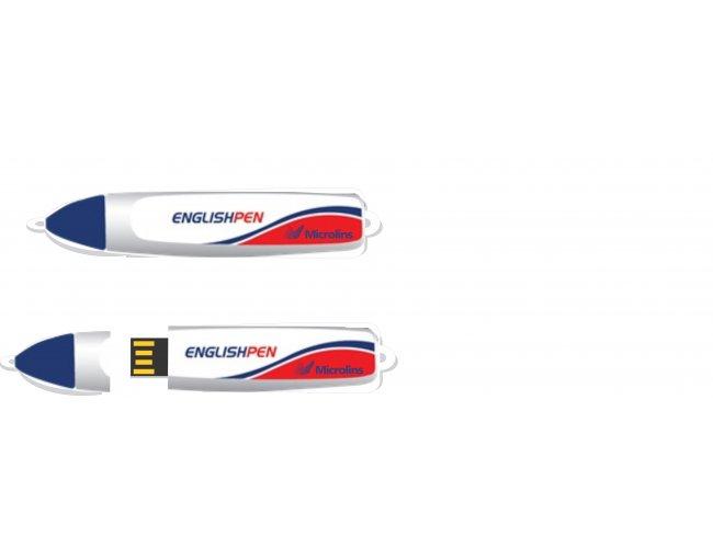 PEN DRIVE ESTILIZADO Modelo INF 10101 - Formato caneta