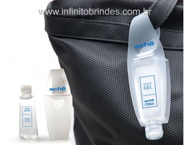 Porta Álcool gel Chaveiro . Modelo INF 307