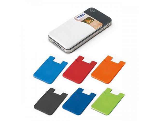 Porta cartões para celular. Silicone - Modelo INF 93320