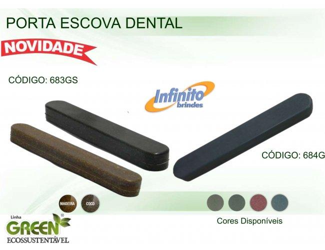 Porta Escova Dental - Modelo INF 0683G GREEN ECOSSUSTENTÁVEL
