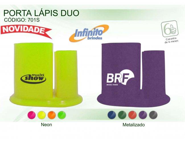 Porta Lápis - Modelo INF 0701S Neon ou Metalizado