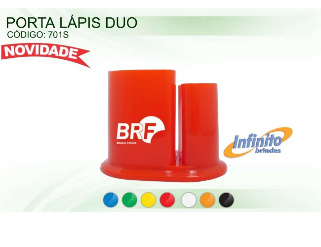 Porta Lápis - Modelo INF 0701S