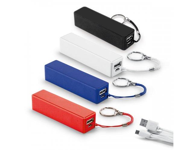 Power bank Bateria portátil ABS. Bateria de lítio Cap 1.800 mAh MOD INF 97375