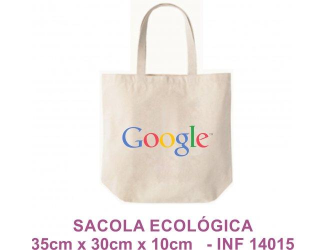 Sacola Ecológica 35cm x 30cm x 10cm Modelo INF 14015