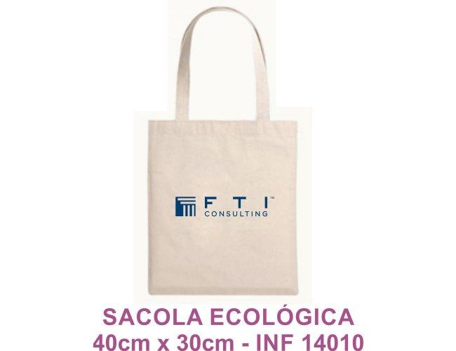 Sacola Ecológica 40cm x 30cm Modelo INF 14010