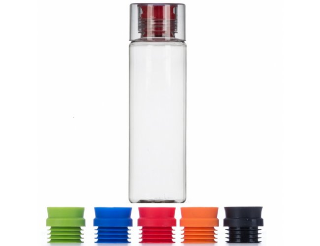 Squeeze de Plastico Resistente - 600ml Modelo INF GA4000 diversas cores