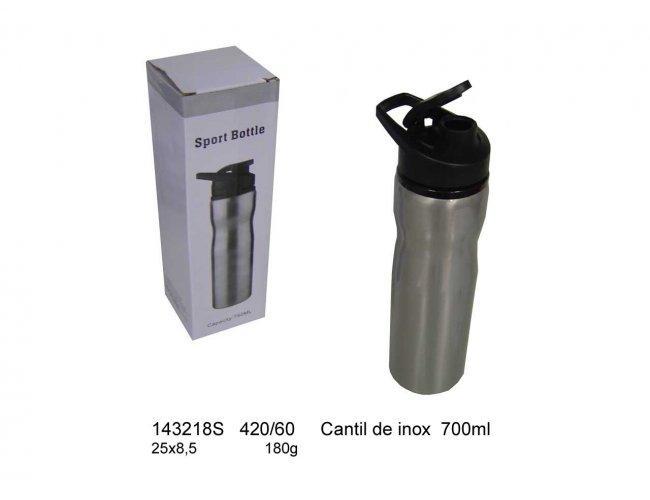 SQUEEZE DE INOX 700ml  MODELO INF 143218
