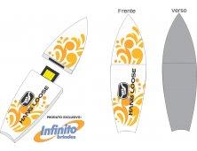 Pen drive ESTILIZADO - Modelo INF 10101 esporte