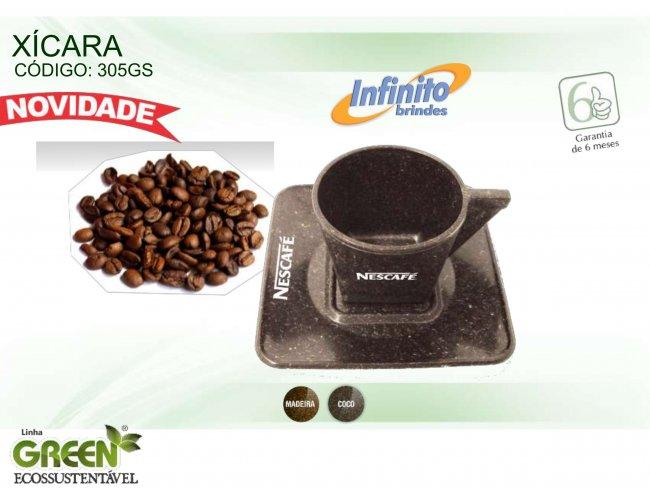 Xicara café - Modelo INF 0305G  GREEN ECOSSUSTENTÁVEL